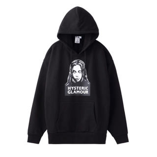 X-girl - XGIRL-HYSTERIC GLAMOUR FACE SWEAT HOODIE