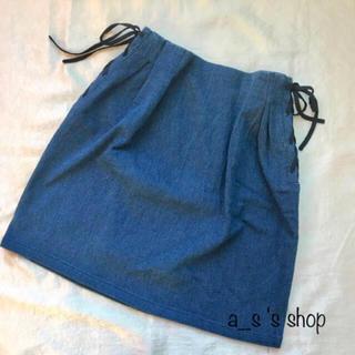 ページボーイ(PAGEBOY)のサイドリボン スカート(ミニスカート)
