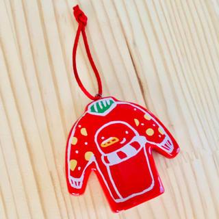 スターバックスコーヒー(Starbucks Coffee)のスターバックス クリスマスオーナメント 赤セーター(その他)