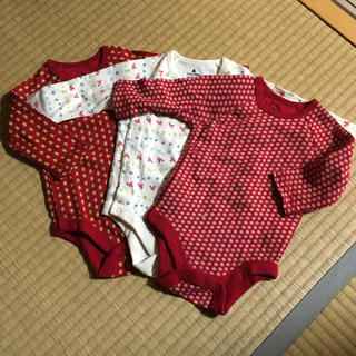 GAP - baby gap 肌着 ロンパース  3枚セット 60cm