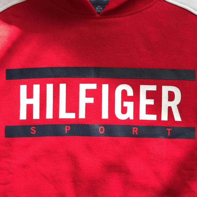 TOMMY HILFIGER(トミーヒルフィガー)の新品☆TommyHilfigerトミーヒルフィガー パーカー☆ キッズ/ベビー/マタニティのキッズ服男の子用(90cm~)(Tシャツ/カットソー)の商品写真