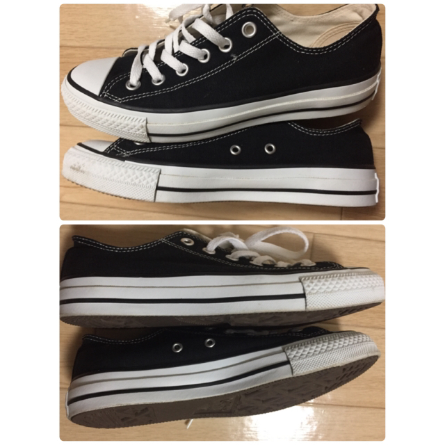 CONVERSE(コンバース)のコンバース 黒 24.5  レディースの靴/シューズ(スニーカー)の商品写真
