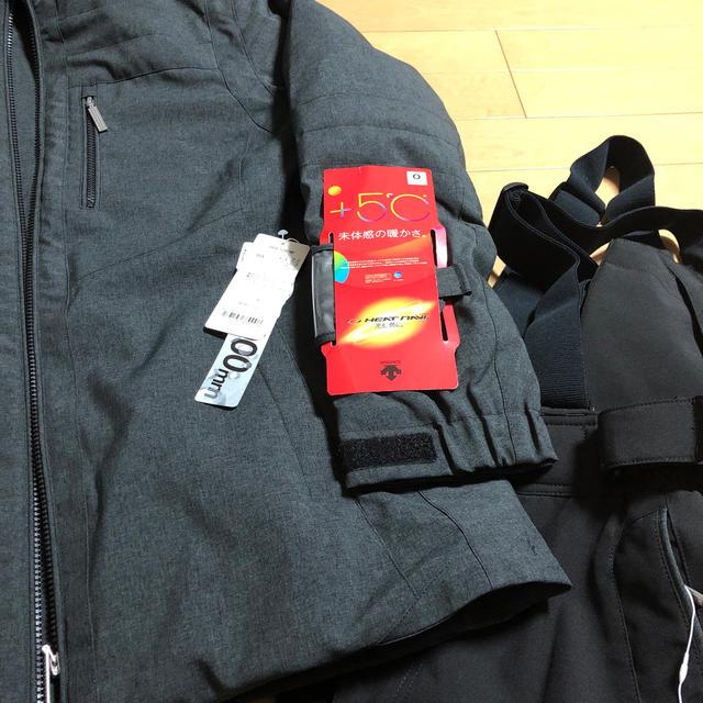 DESCENTE(デサント)のデサント スキーウェア上下 レディースO 新品 スポーツ/アウトドアのスキー(ウエア)の商品写真