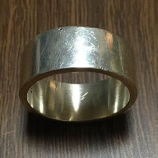 シルバー925  平打ちリング(リング(指輪))