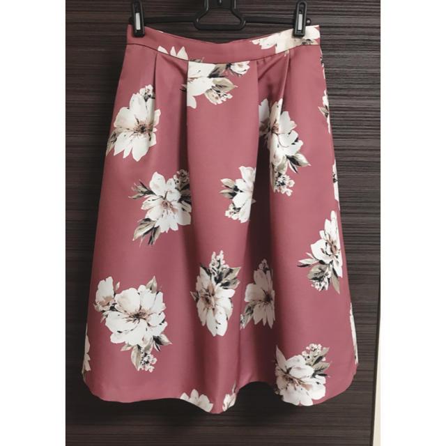 31 Sons de mode(トランテアンソンドゥモード)の!koyuri様専用!31 sons de mode スカート 花柄 36 レディースのスカート(ひざ丈スカート)の商品写真