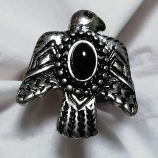 リング イーグル 14号 オニキス ユニセックス(リング(指輪))