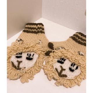 チチカカ(titicaca)のチチカカ アニマルミトン 手袋(手袋)