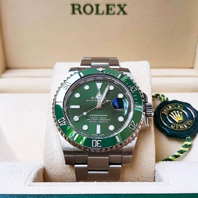 オメガ シーマスター 限定 、 ROLEX - ロレックス 116610LV グリーンサブ 新品・未使用の通販 by 金持ち段ボール's shop