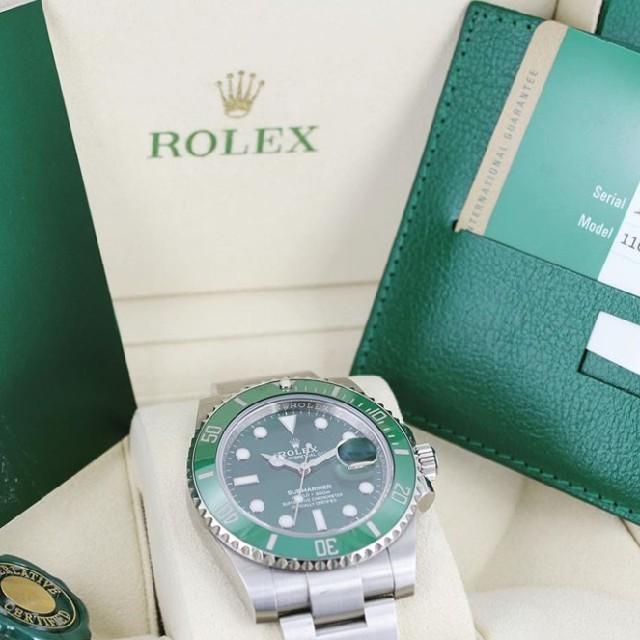 ROLEX(ロレックス)のロレックス 116610LV グリーンサブ 新品・未使用 メンズの時計(腕時計(アナログ))の商品写真