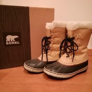 ソレル(SOREL)のSOREL ブーツ ほぼ未着用(ブーツ)