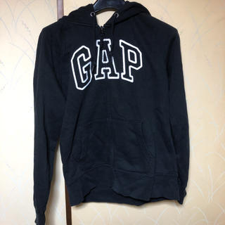 GAP - 特価 GAP ブラックジップパーカー