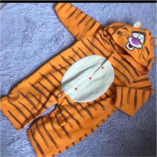 Disney - ティガー フリース ロンパース 60 70