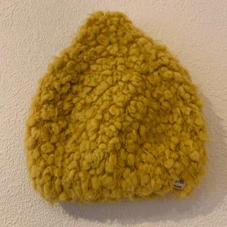 プティマイン(petit main)のpetit mainプティマイン 帽子 ベビーキャップ(帽子)