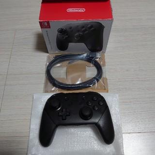 Nintendo Switch - 任天堂switch 純正 Proコントローラー プロコン