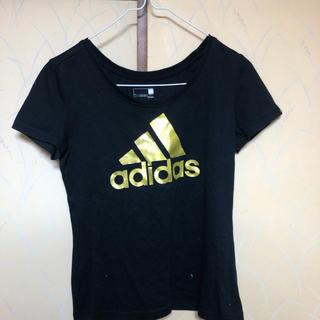 アディダス(adidas)の特価 adidas ゴールドロゴT(Tシャツ(半袖/袖なし))