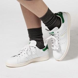 アディダス(adidas)の 定15120円名作金ロゴ!アディダススタンスミス新品スニーカー白緑希少22.5(スニーカー)