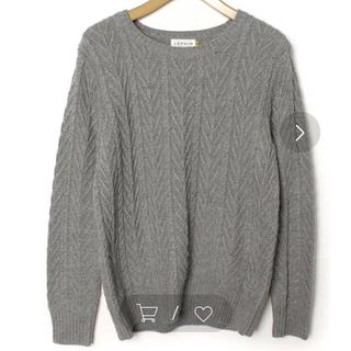 LEPSIM - LEPSIM グレーセーター
