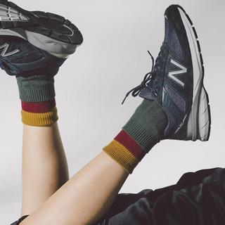 New Balance - W990NV5 23.5cm US6.5 ネイビー