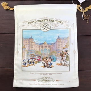 Disney - TDR東京ディズニーランドホテル巾着袋