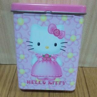 ハローキティ - ハローキティ 缶 約9cm×7cm×3cm