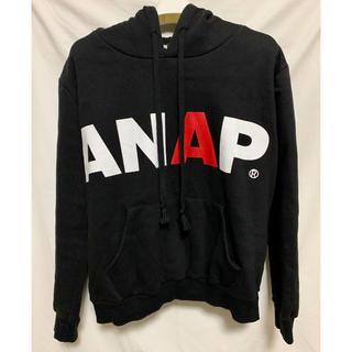 ANAP - ANAP パーカー ロゴ スウェットパーカー