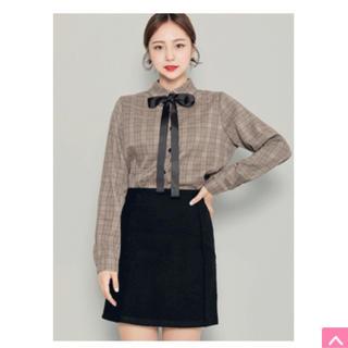ホッピン(HOTPING)のHOTPING チェックシャツ 韓国ファッション(シャツ/ブラウス(長袖/七分))