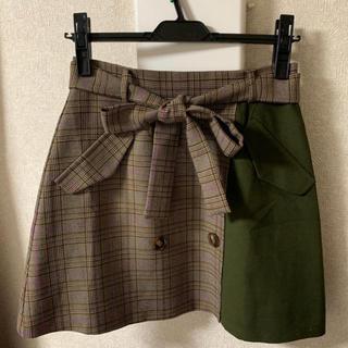 セシルマクビー(CECIL McBEE)のセシルマクビー トレンチスカート M(ミニスカート)