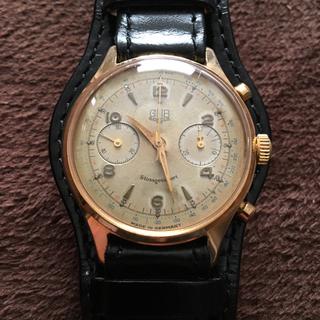 グラスヒュッテオリジナル(Glashutte Original)のGUB フライバッククロノグラフ kal64 cal64 オリジナル箱付き(腕時計(アナログ))