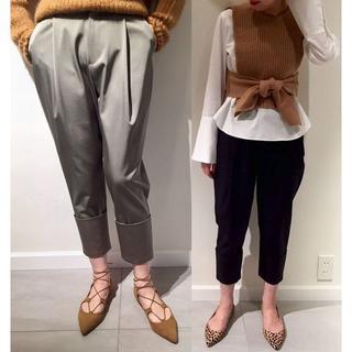 FRAMeWORK - 【定価17280円】 FRAMeWORK 光沢厚手 裾折り返し ストレッチパンツ