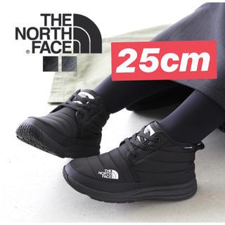 THE NORTH FACE - 新品 ノースフェイス ヌプシ チャッカ 黒 25cm