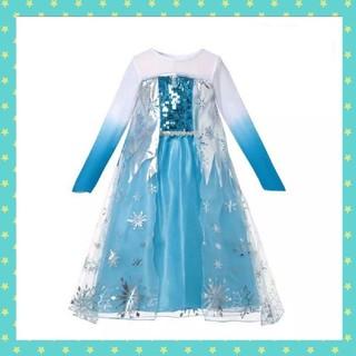 Disney - 大人気!最安値 120 アナ雪 エルサ ドレス コスプレ 衣装♡