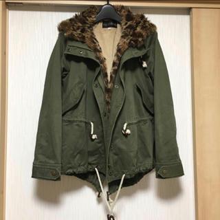 COCO DEAL - COCODEAL  アニマルファー付きジャケット コート
