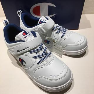 Champion - 新品 チャンピオン  スニーカー 21cm ムーンスター製 運動靴 白