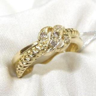 ダイヤ  0.50ct K18 リング  指輪(リング(指輪))