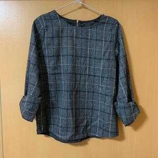 ヴィス(ViS)のVis トップス 袖リボン 未着用 タグあり(シャツ/ブラウス(長袖/七分))