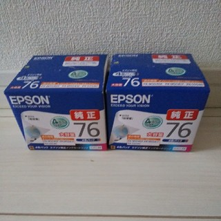 EPSON - エプソンインクカートリッジ76 4色セット2個