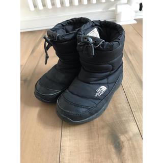 THE NORTH FACE - ノースフェイス ブーツ  ブラック 18センチ