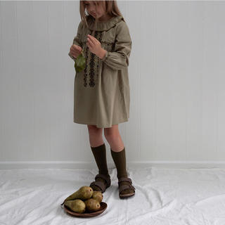 キャラメルベビー&チャイルド(Caramel baby&child )の【美品】apolina アポリナ  ワンピース M 3-5y(ワンピース)