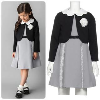 プティマイン(petit main)の美品 petit  main プティマイン フォーマル 130 卒園式 入学式(ドレス/フォーマル)