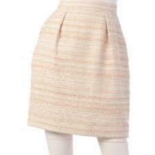 アプワイザーリッシェ(Apuweiser-riche)のアプワイザー スカート ツイード(ひざ丈スカート)