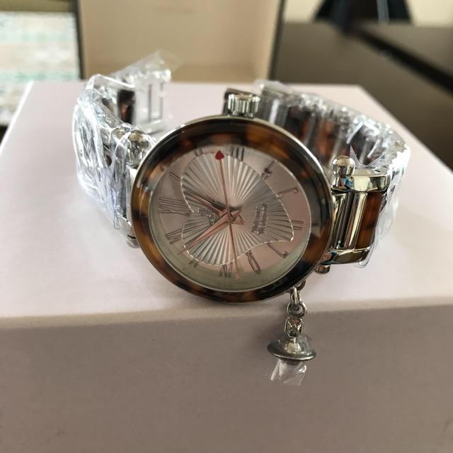 Vivienne Westwood(ヴィヴィアンウエストウッド)のヴィヴィアンウエストウッド 腕時計 オーブ ディアマンテハート インデックス レディースのファッション小物(腕時計)の商品写真