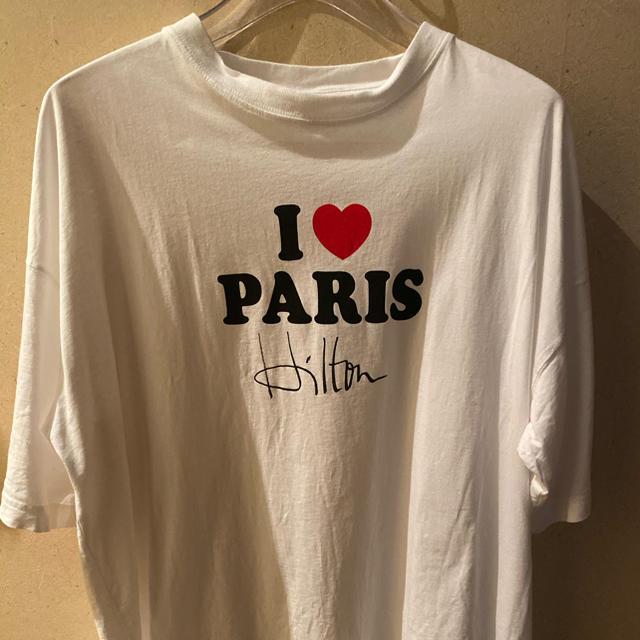 vetements paris hilton Tシャツ メンズのトップス(Tシャツ/カットソー(半袖/袖なし))の商品写真