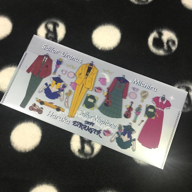 セーラームーン(セーラームーン)の☆セーラームーンカフェ チケットフォルダー☆ エンタメ/ホビーのアニメグッズ(クリアファイル)の商品写真