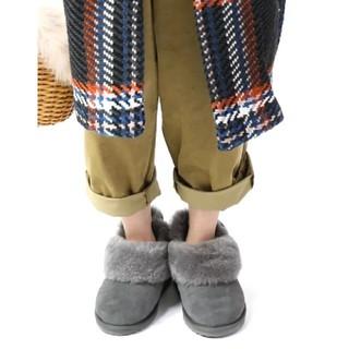 エミュー(EMU)のEMU スリッポンブーツ  新品未使用(スリッポン/モカシン)