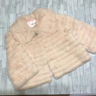 ジルスチュアートニューヨーク(JILLSTUART NEWYORK)の美品  ❁  JILLSTUART ラビット コート 140 毛皮(コート)