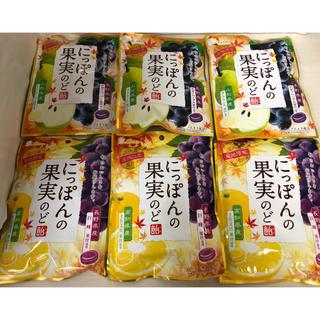 ライオン(LION)のライオン菓子 にっぽんの果実のど飴2種計6袋セット!!(菓子/デザート)