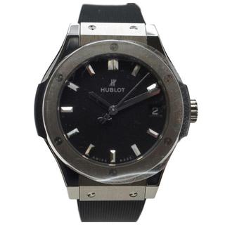 ウブロ(HUBLOT)の未使用☆HUBLOTクラシックフュージョンチタニウム(腕時計)