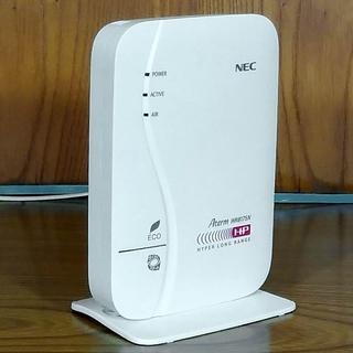 NEC - NEC Wi-Fiルータ Aterm WR8175N 楽々QRスタートで簡単接続