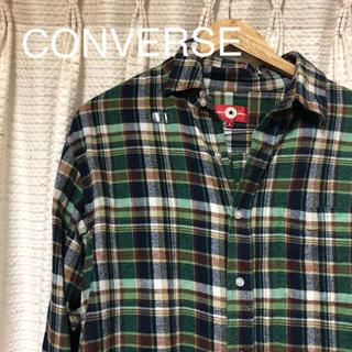 コンバース(CONVERSE)のCONVERSE ネルシャツ チェックシャツ(シャツ)