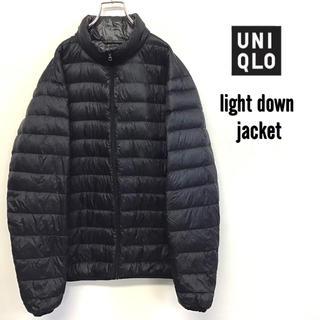 UNIQLO - 美品 UNIQLO ウルトラ ライトダウンジャケット メンズXL ブラック